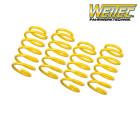 Weitec Muelles De Rebaje Con TÜV (Accord 08-up 2.0i/2.4i Manual)