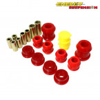 Silentblocks Horquillas Delanteras Energy Suspension Rojos (Civic 91-96/Del Sol/Integra 94-01)