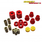 Silentblocks Horquillas Delanteras Energy Suspension Rojos  (Civic 95-01 Non-VTi)