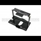 Password:JDM Black Anodized Billet Aluminum Mini Battery Mount (Universal)