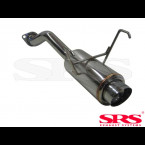 SRS Exhausts Axleback System Stainless Steel G50 (Civic 01-05 3/5dr EP2)