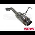 Escape Trasero SRS en inox modelo G50  (Civic 01-05 3/5dr EP2)