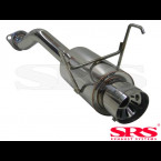 SRS Exhausts Axleback System Stainless Steel G55 (Civic 01-05 3/5dr EP2)