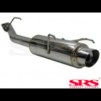 SRS Exhausts Axleback System Stainless Steel G50 (Prelude 97-01)