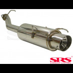 SRS Exhausts Axleback System Stainless Steel G55 (Prelude 97-01)
