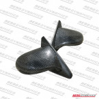 Espejos Manuales Aerodynamics Replica Spoon en Carbono   (Civic 91-96 2/3dr)