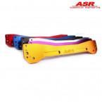 Refuerzo Trasero Inferior ASR color rojo (Civic 95-01 2/3/4dr)