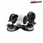 Soportes Motor Hardrace 5 piezas  (Civic 91-96/Del Sol/Integra 94-01)