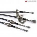 Cables y Soporte de Palanqueria K-Tuned modelo  Race para H22 Swap  (Civic/CRX 87-01/Del Sol/Integra 90-01  con  H22-Swap)