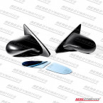 Espejos Manuales Aerodynamics Replica Spoon en ABS (Civic 95-01 2/3dr)