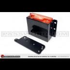 Kit de Recolocacion Bateria Password:JDM en Carbono  (Civic/CRX 87-93/Integra 90-93)