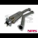 Escape Intermedio SRS inox   (Civic 01-05 2.0i Type-R)