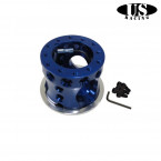 Adaptador de Volante US-Racing en color Azul (Civic 91-96/Del Sol/Integra 94-01)