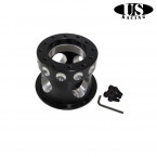 Adaptador de Volante US-Racing en color Negro (Civic 91-96/Del Sol/Integra 94-01)