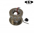 Adaptador de Volante US-Racing en color Bronce (Civic 91-96/Del Sol/Integra 94-01)